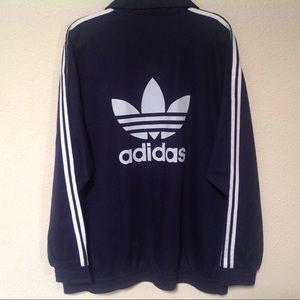 Vtg Adidas Sports Authority SoccerTREFOIL pullover